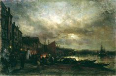 Night - Bogolyubov, Alexey - Gallery - Web gallery of art Nocturne, Russian Landscape, Web Gallery Of Art, 16 March, Great Artists, Venice, Oil On Canvas, Night, Pictures