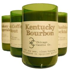 Chicago Candle Co. Man Candles