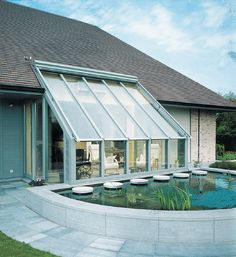 A modern conservatory Modern Conservatory, Conservatory Extension, Garden Room Extensions, House Extensions, Outside Living, Outdoor Living, Outdoor Decor, Exterior Design, Interior And Exterior
