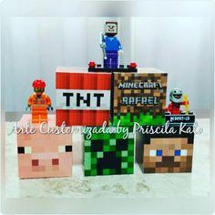 Festa Minecraft do Rafael!