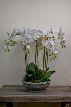 The orchid is such a versatile and timeless adition to any home, it looks fantastic in almost all scenarios, from marble bathrooms to contemporary kitchens! http://www.countryaccentfloralboutique.com/pages/artificial-flower-image-gallery #artificialflowers #flowers #homedecor #homedecorating #decoration #decor #arrangement #weddingdecor #silkflowers #eventdecor #CountryAccent #floral #boutique #Australia