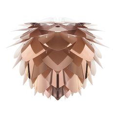 Discover the Vita Lighting Silvia Shade - Copper - Large at Amara