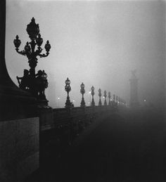Pont Alexandre III Paris 1972   Photo: Raymond  Voinquel