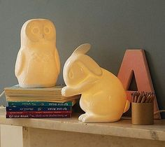 Animal Night Lights by White Rabbit England