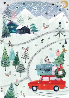 Christmas Illustrations.Pinterest