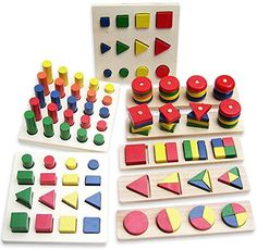 Montessori Cylinder Educational Toy Block Wood Teaching Aids Geometry Shape Baby Learning Portfolio Combination 8 Pieces Netlab-Toy http://www.amazon.com/dp/B00M8B6ZHQ/ref=cm_sw_r_pi_dp_0pwXub03HG03D