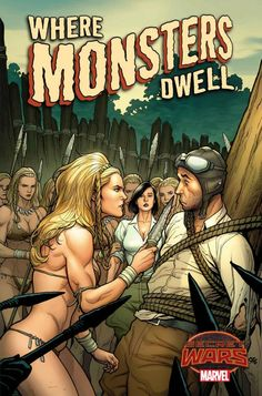 Where Monsters Dwell ## by Frank Cho *