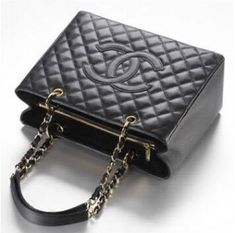 d1cd4579d Bolsa Chanel Shopper Tote- Preta - Inspired Premium