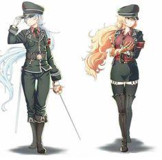RWBY: Military - Weiss & Yang