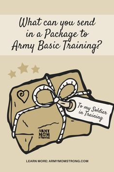 Army Basic Training care packages: what can you send? Here is a list of acceptable things to send your SIT while at Basic.