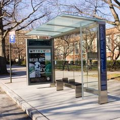 NYC gets first Grimshaw bus stop