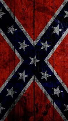 Rebel flag~ would make a really cute pic-nic table top.