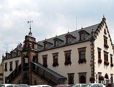 L'hôtel de ville, Soultz Haut Rhin.