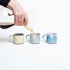 Espresso Cup – Irish Design Shop Espresso Cups, Coffee Cups, Coffee Maker, Irish Design, The Potter's Wheel, Coffee Break, Earthenware, Beautiful Hands, Brewing