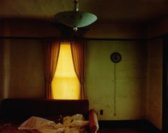 Steve Fitch - Living room in a house in Carlyle, eastern Montana, June 8, 2000