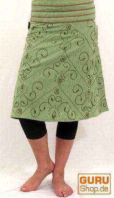 Guru Shop De spaghetti top im hippie patchwork look in türkis mit braun und