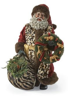 51 Black Santa Claus Ideas Black Santa Santa Santa Claus