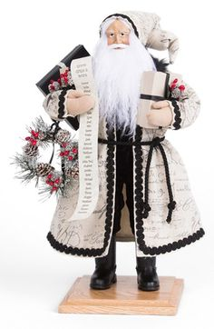 Lynn Haney 'Holiday Memory' Santa Figurine available at #Nordstrom