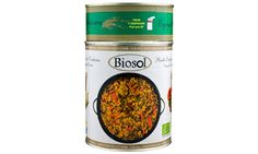 "Ready-Made Organic Rice and Vegetable Paella ""Biosol"" Traditional Spanish Dishes, Chicken Paella, Organic Vegetables, Dog Food Recipes, Health, Rice, Health Care, Salud, Laughter"