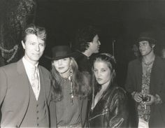 David Bowie priscilla presley lisa presley early 90s Twiggy's 'Loves To Be Loved' David Bowie Blog