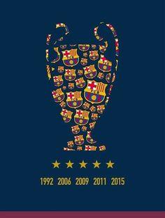 Wszystkie zwycięstwa FC Barcelony w Lidze Mistrzów • 1992, 2006, 2009, 2011, 2015 - kiedy będzie następne? • Wejdź i zobacz więcej #barcelona #fcbarcelona #ucl #championsleague #football #soccer #sports #sports #pilkanozna #futbol