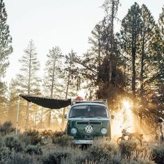 "vanlifers: """" was everything we hoped and so much more. How do we even begin to praise the men and women who helped make this past weekend happen. Lawdy, you done outdid yourselves! Camping Hacks, Vw Camping, Camping Life, Camping Spots, Camping Ideas, Combi Vw T2, Vw California Beach, Vw Minibus, Offroad"