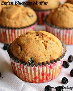 Aromatic Cooking: Eggless Blueberry Muffins