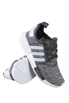 Adidas NMD R1 Glitch Women's Midnight Grey (10) - BY3035