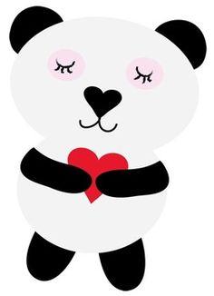 Free Panda Clipart b