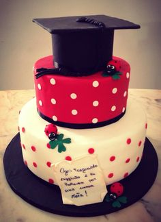 graduation cake - Torta di Laurea