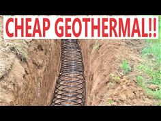 My DIY Geothermal System Was So CHEAP!!! - YouTube Oil Stove, Free Solar Panels, Stove Heater, Solar Power System, Lake Cabins, Alternative Energy, Renewable Energy, Told You So, How To Plan