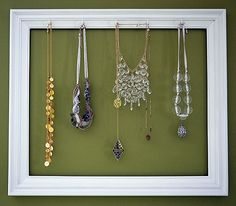 just bought a gold frame at a thrift shop so I can make one of these. I'll post the finished product when I'm done.