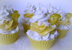 Cupcake Soap Lemon Sugar Homemade Soap Made by NorasSoapScents
