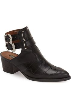 Topshop 'Austin' Western Bootie (Women) available at #Nordstrom