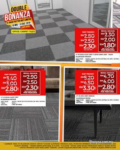 Business for Sale for sale, in Klang, Selangor, Malaysia. Carpet Tile Is The Beautiful Choice For Your Home Floors! Carpet Tiles that beautify your home,. id: 810167 Office Carpet, Commercial Carpet Tiles, Tile Suppliers, Quality Carpets, Appliance Sale, Tile Floor, Interior Decorating, New Homes, Home Appliances