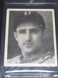 9116fcbc931 1936 Goudey Black and White Frenchy Bordagaray Brooklyn Dodgers  3 Baseball  Card