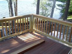 Deck Railing Post Codes And Connections