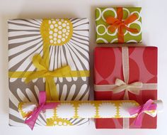 bright graphic wrapping