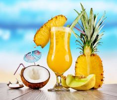 If you like Piña Coladas...then you'll LOVE my slimmed-down version. A typical piña-castrophe will cost you over 500 calories, no thanks to the sugary mixes and syrupy fruit. Now you can kick back and sip skinny at your next pool party for just 150 delicious calories. Pass the sunscreen!