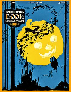 jack o'lantern halloween 1930 catalogue