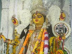 Chaul Patti Jagadarti Puja 2013 in Chandannagar http://www.pujaonline.net/jagadhatri-puja-2013-dates-time/