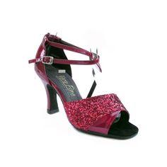 "1658 Silver Gold Salsa Ballroom Latin Nu buck Dance Shoes 2.5/"" 3/""  Very fine"