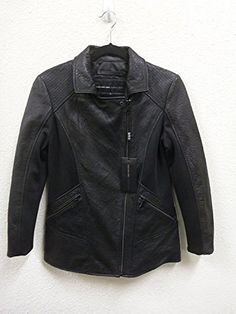 ANDREW MARC Marc New York By Andrew Marc Leather Moto Jacket-Black. #andrewmarc #cloth #