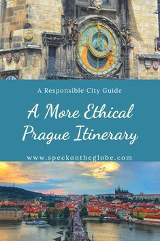 City Guides can be ethical & eco friendly too!  Here is a guide to Prague that shares tips I've found for eco friendly accommodation, responsible transportation, ethical souvenir shopping & healthy food choices!  Prague is a popular tourist destination so this post gives more mindful choices on how to see the city.