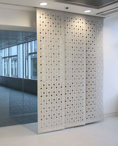 intricate sliding room divider. Award winning British designer maker Selina Rose creates intricately cut  felt bespoke interior surfaces and homewares On the Cheap 10 Room Dividers Under 100 Apartment Therapy Wall