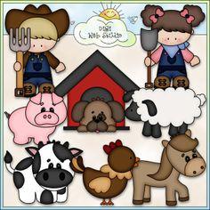 Farm Life 2 - NE Kristi W. Designs Clip Art : Digi Web Studio, Clip Art, Printable Crafts & Digital Scrapbooking!