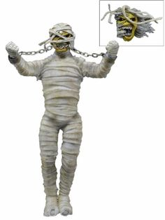 "Lindsey's Toy Room - Iron Maiden - Clothed 8"" Figure - Mummy Eddie by NECA, $24.99 (http://www.lindseystoyroom.com/iron-maiden-clothed-8-figure-mummy-eddie-by-neca/)"