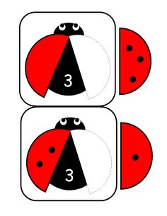 ladybugs math activities printables - The best crafts The best crafts Numbers Kindergarten, Kindergarten Math Activities, Math Numbers, Preschool Worksheets, Math Games, Counting Activities For Preschoolers, Math For Kids, Math Centers, Prints