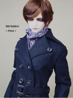 Bjd Clothes Handsome Man Priest Costume Set for SD10/SD13/SD17 Ball-jointed Doll