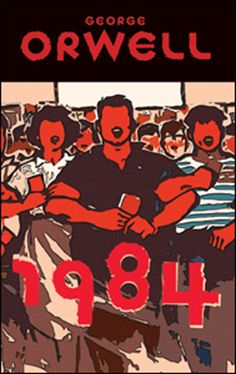 Today marks George Orwell's birthday. To celebrate, we have compiled a visual history of the publication of one of his most influential works, Though 1984 has come and gone with little in the way of Big Brother (although we suppose it… Cool Books, Sci Fi Books, Book Cover Design, Book Design, George Orwell 1984 Book, Book Club Books, My Books, Music Books, Dystopian Society